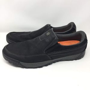 Merrell Black 15 Slip On Loafer Moc Shoe Low Men's